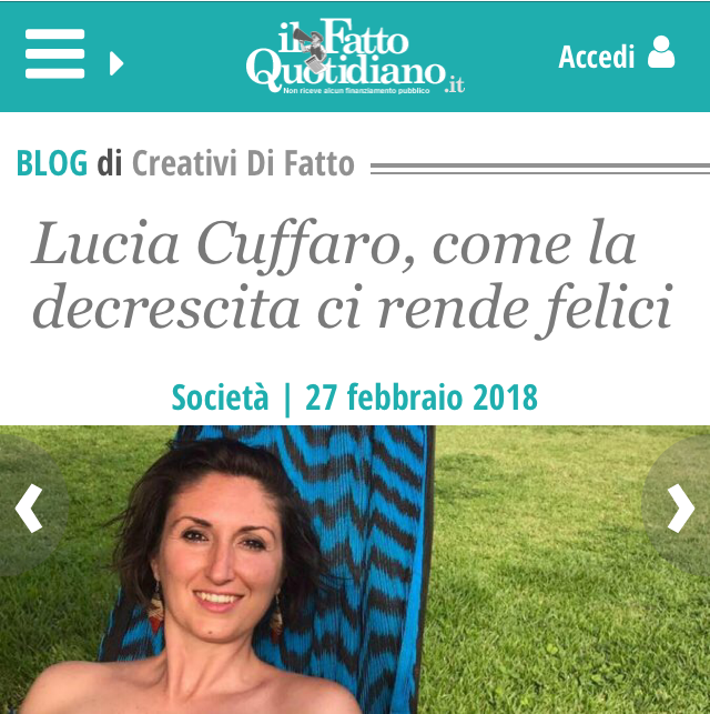 Lucia Cuffaro - Il Fatto Quotidiano