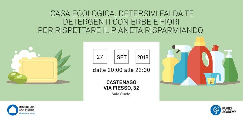 Seminario Autoproduzione gratuito - Casa Ecologica e Detersivi Naturali